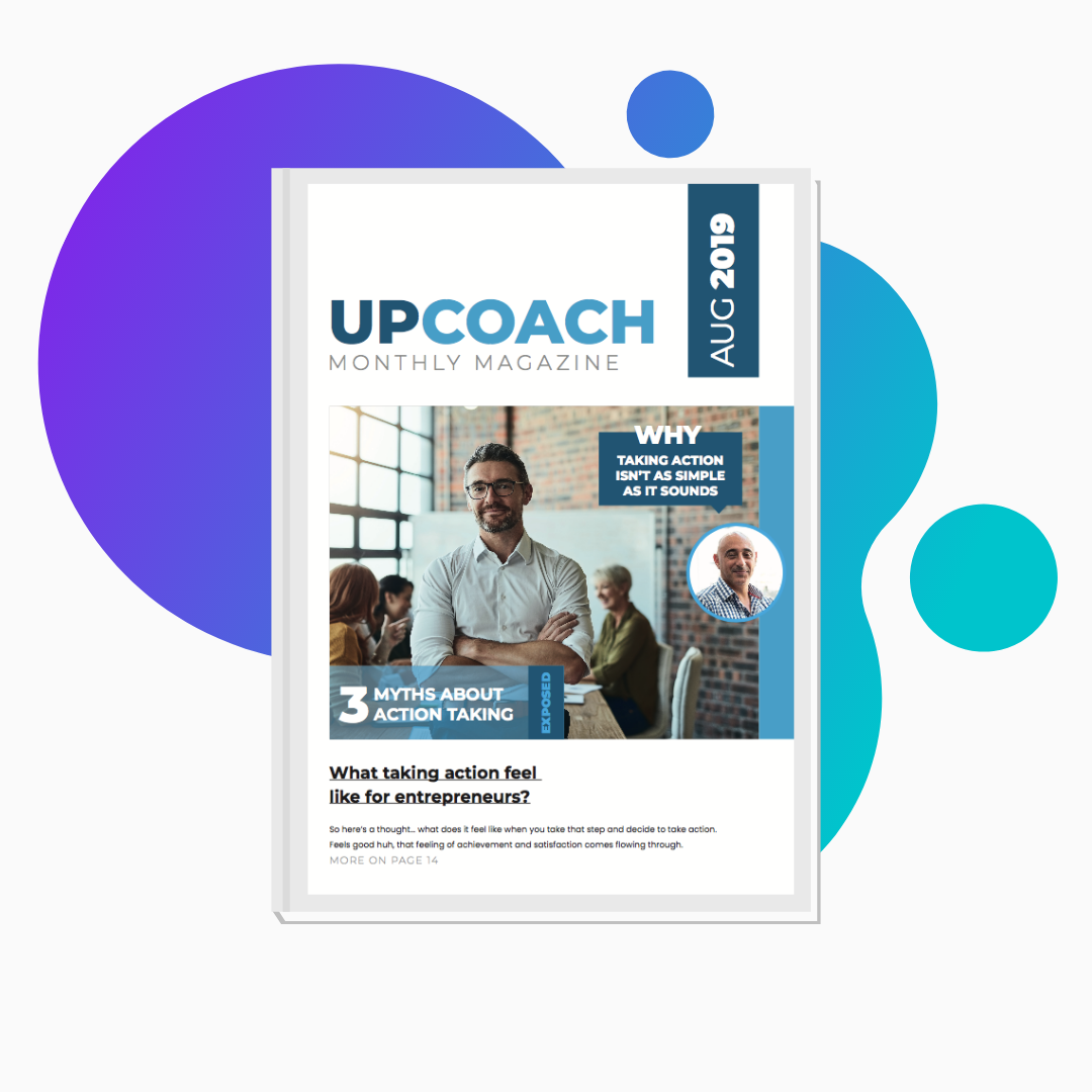 Upcoach Magazine – October Issue